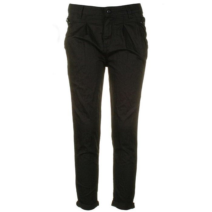 FIRETRAP   dakis black trousers   currently 50% off