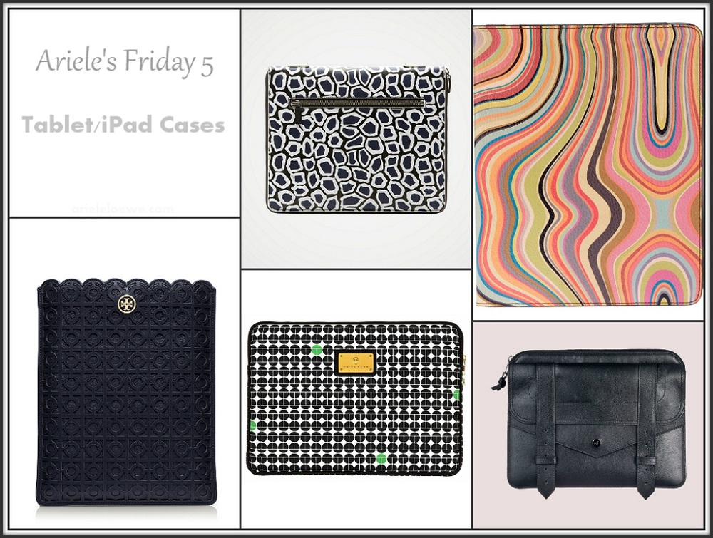 Arieles Friday 5 Tablet iPad Cases