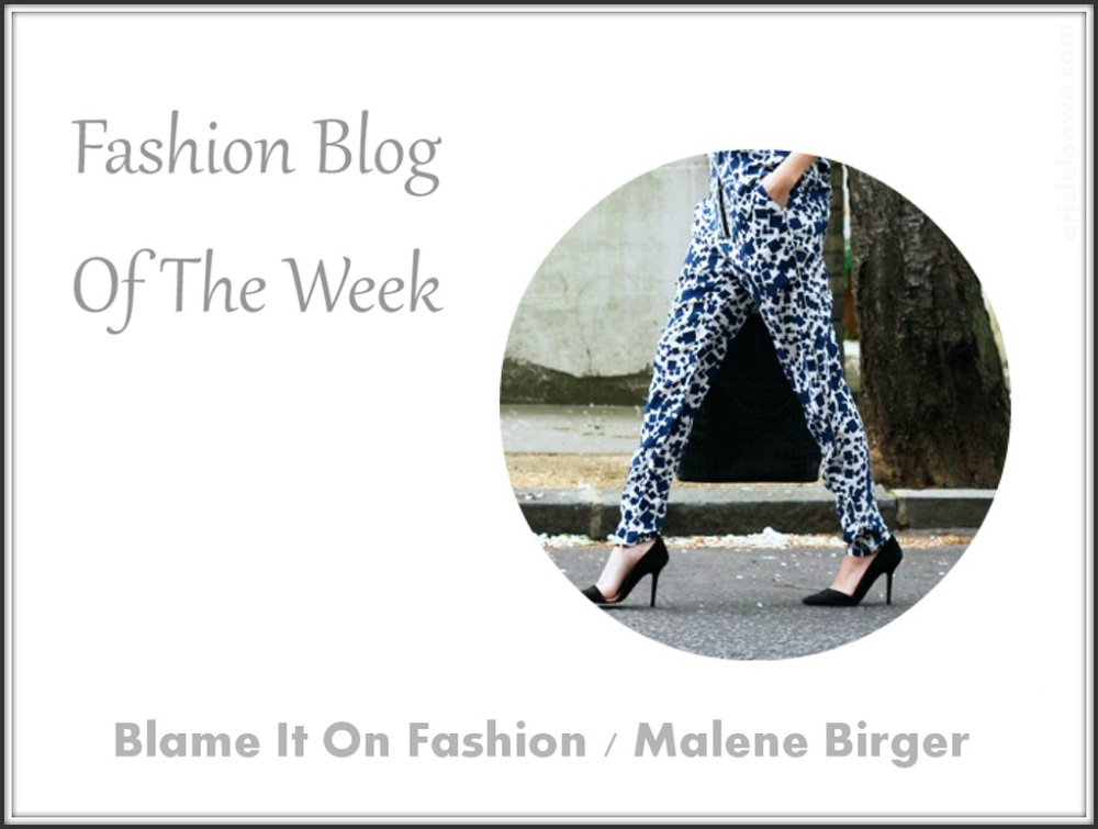 Fashion Blog Of The Week Malene Birger Pant Suit