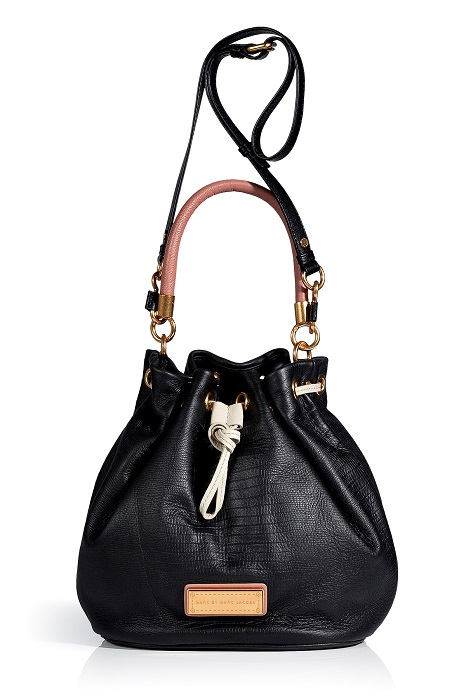 MARC BY MARC JACOBS   leather drawstring bag   currently 30% off