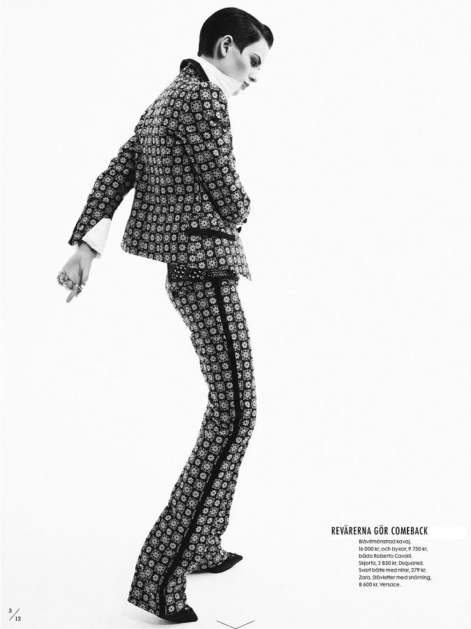 Andreas Ohlund / Ellinore Erichsen / Elle Sweden / May 2013