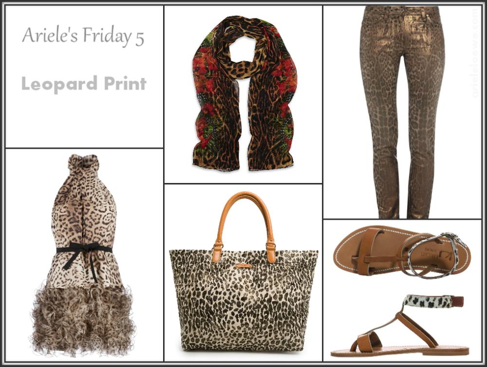 Ariele's Friday 5 Leopard Print