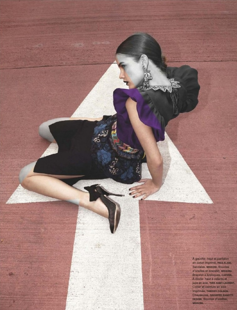 Viviane Sassen / Barbara Palvin / Numéro / June-July 2012