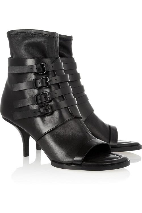 ALEXANDER WANG   fei fei open toe ankle boots