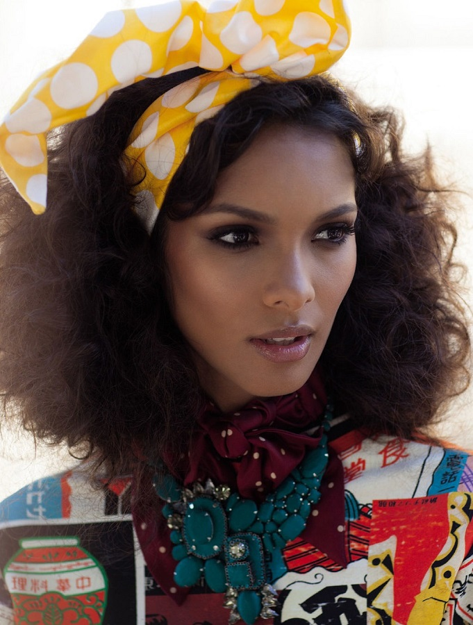 Granace Doré / Lais Ribeiro / Vogue Brazil / November 2012