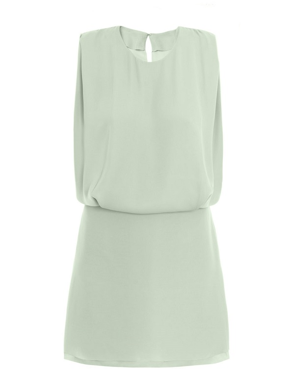 ACNE  pastel green marlow dress  currenty 50% off