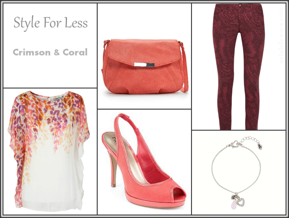 Style For Less Damsel In A Dress April Top and Iro Printed Skinny Jeans