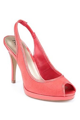 MARKS AND SPENCER   peep toe stiletto slingback