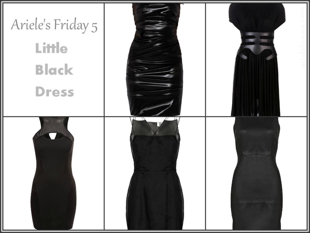 Ariele's Friday 5 Little Black Dress