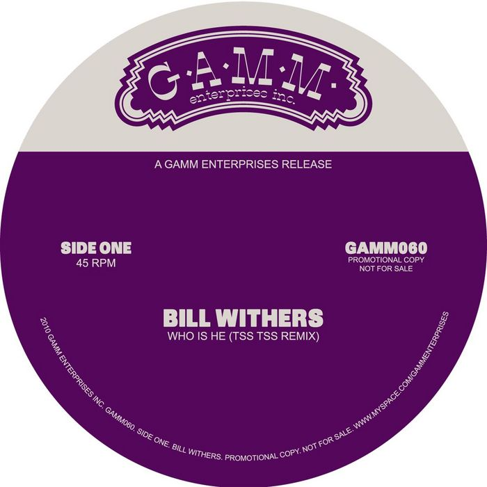 Bill Withers - Who Is He (Tss Tss Remix)