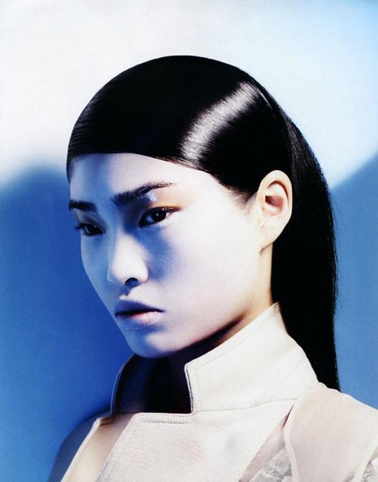 Lachlan Bailey / Stephanie Shiu / Vogue China / July 2007