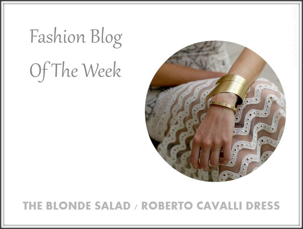 Blog of the week Roberto Cavalli Dress