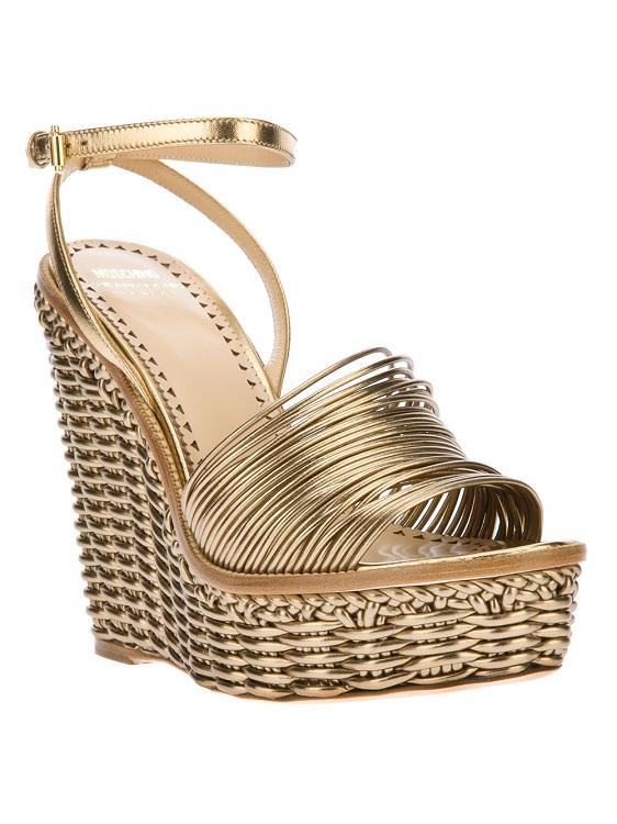MOSCHINO CHEAP & CHIC   wedge sandal