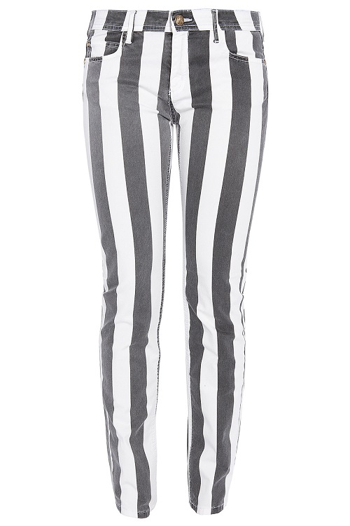 FAITH CONNEXION   stripe skinny jeans   currently 60% off