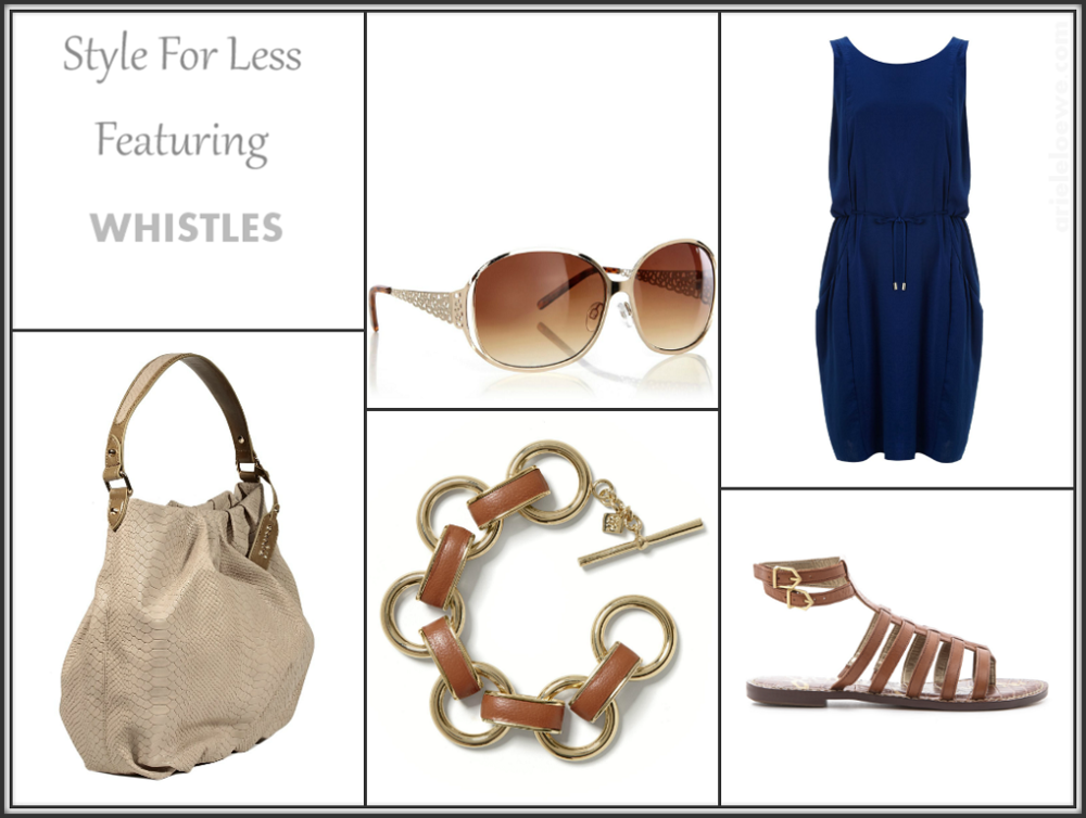 Style for less featuring Whistles