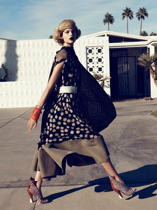 Lachlan Bailey / Bette Franke / Harper's Bazaar US / February 2012