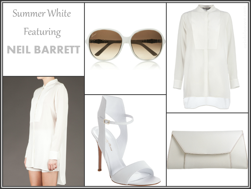 Summer White Featuring Neil Barrett