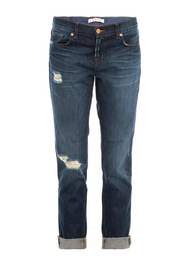 J BRAND   aidan mid-rise boyfriend jeans   currently 50% off