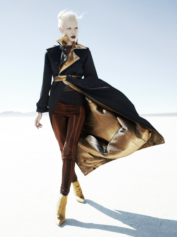 Miguel Reveriego / Aline Weber / Vogue España / October 2012
