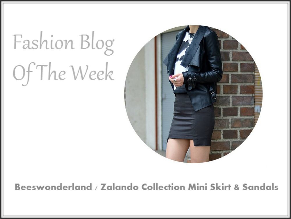 Blog Of The Week Zalando Collection Mini Skirt & Sandals