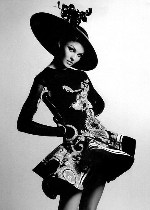 Karl Lagerfeld / Candice Swanepoel / Harper's Bazaar US / October 2011