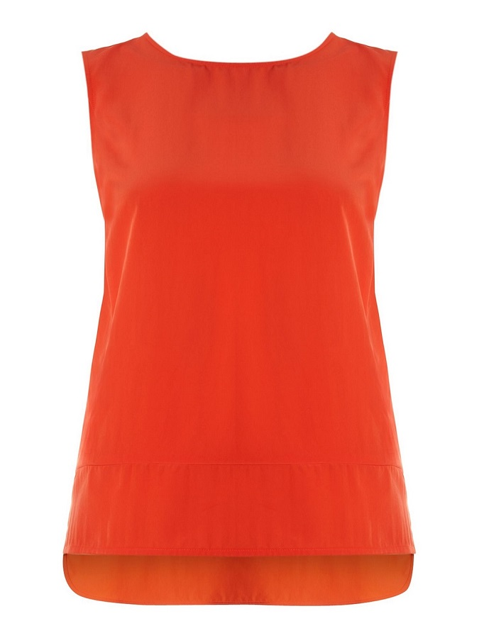 WHISTLES   red vest top