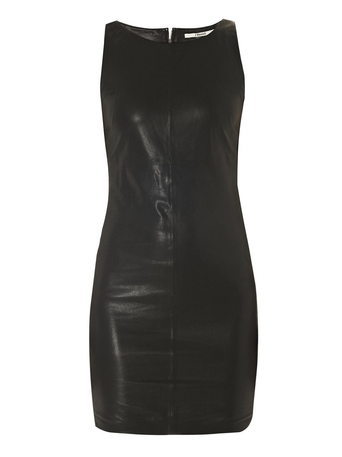 J BRAND   leather shift dress   currently 50% off