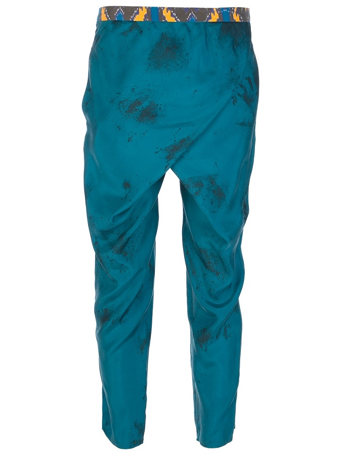JO NO FUI   blue harem trouser