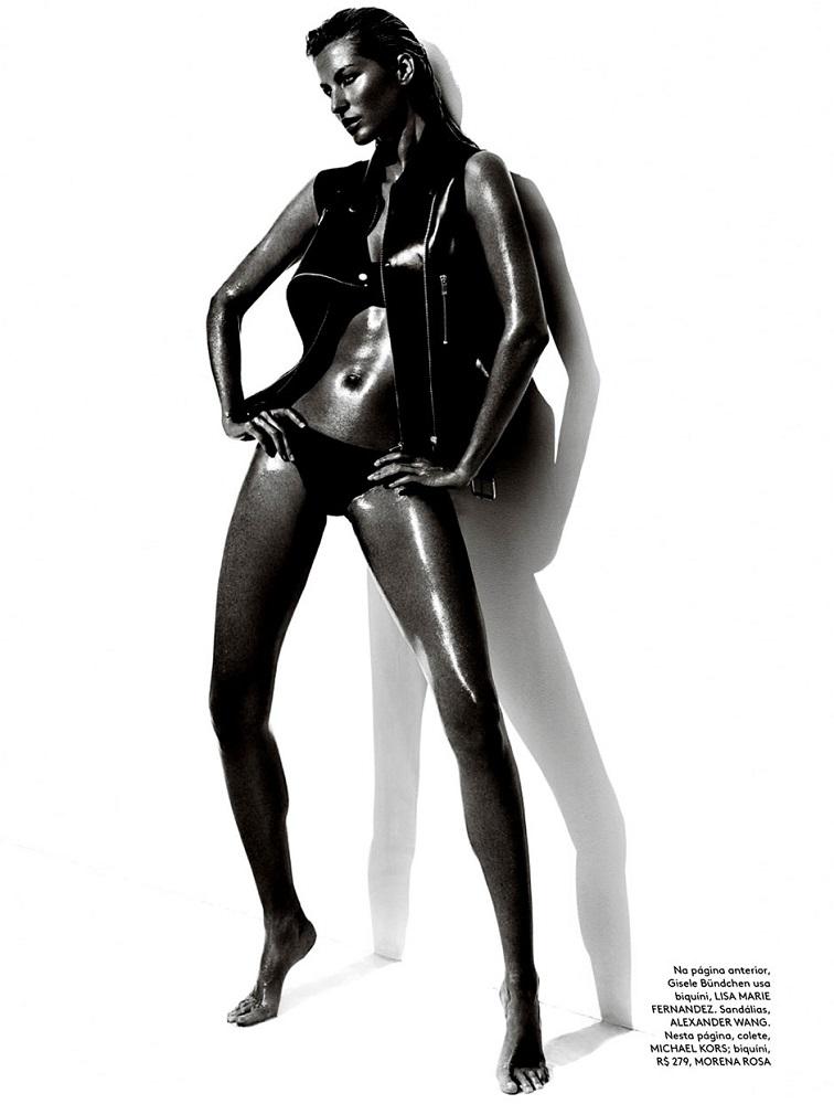 Mario Testino / Gisele Bündchen / Vogue Brazil / June 2013