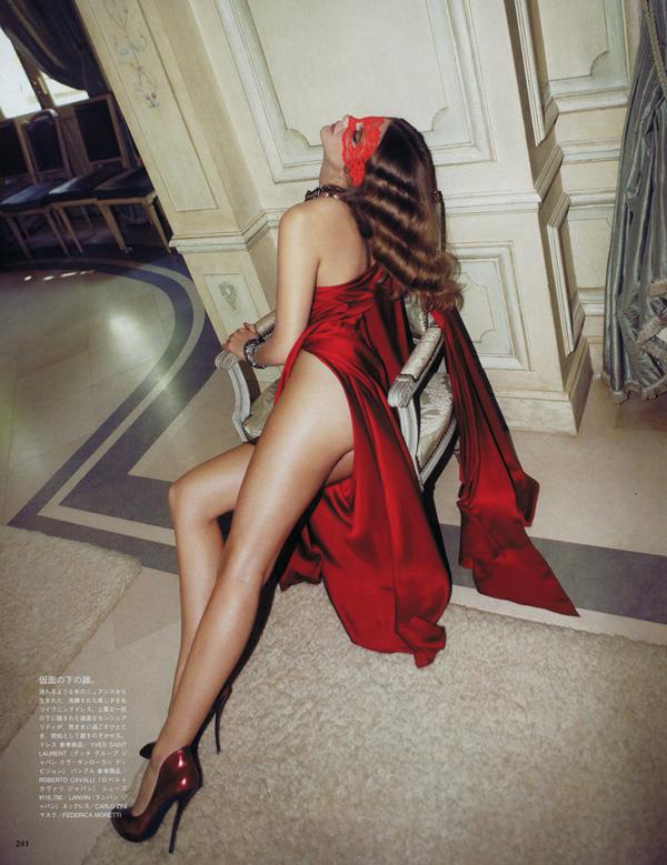 Camilla Akrans / Eniko Mihalik / Vogue Nippon / August 2010