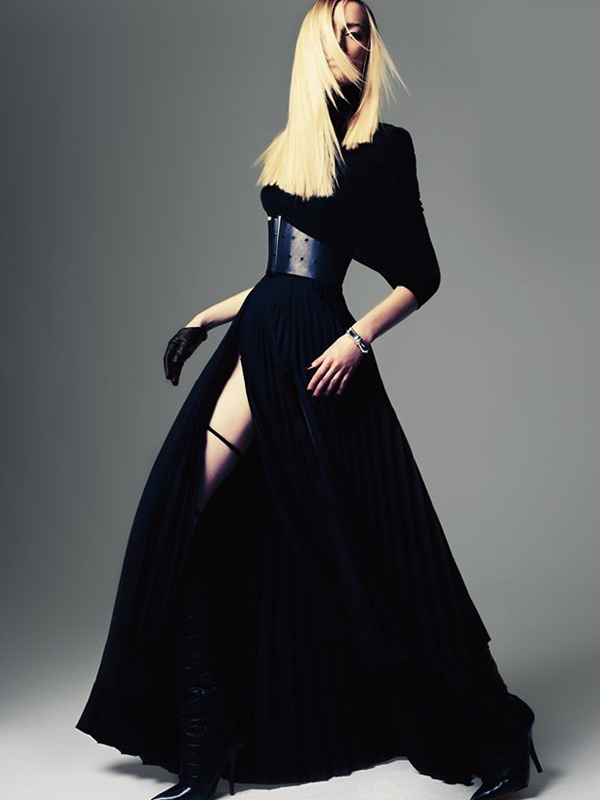 Steven Pan / Daria Strokous / Bon Magazine / Autumn-Winter 2011