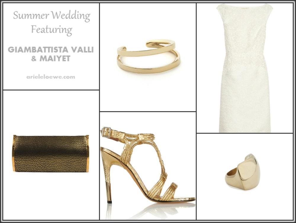 Summer Wedding Featuring Giambattista Valli & Maiyet