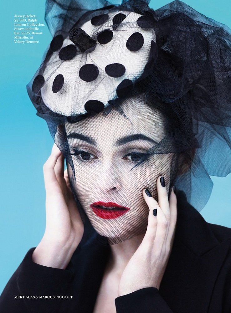 Mert & Marcus / Helena Bonham Carter / Vogue UK / July 2013