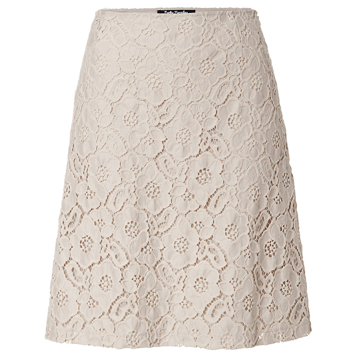BETTY BARCLAY   lace A-line skirt
