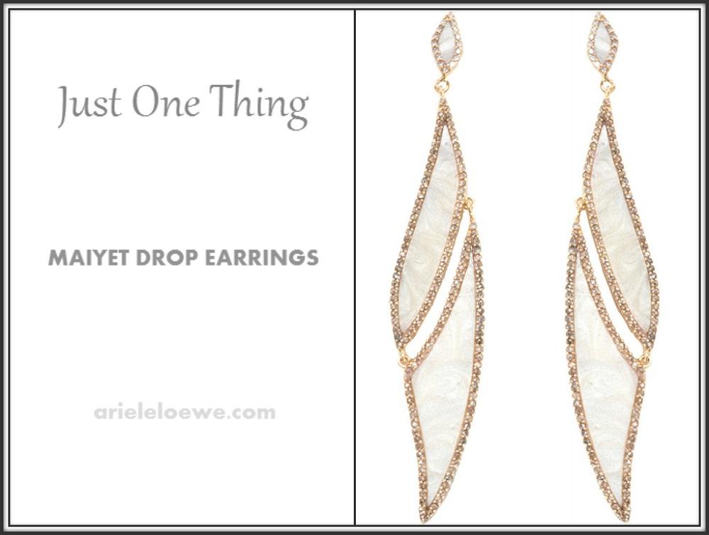 Maiyet Drop Earrings