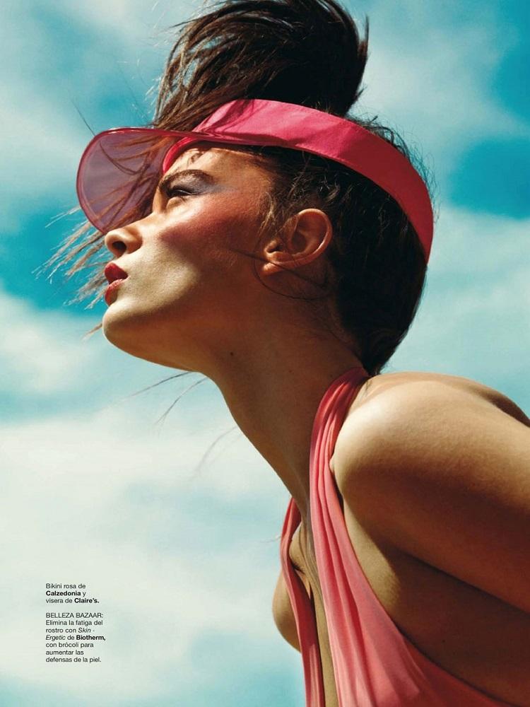 Nico / Crystal Renn / Harper's Bazaar Espana / July-August 2013