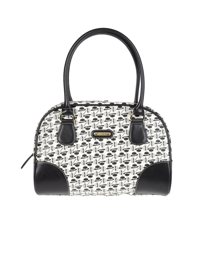 BORSALINO   fabric handbag   currently 70% off