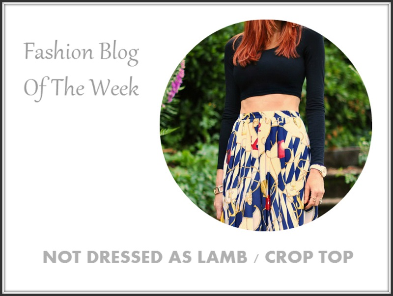 Fashion Blog Of The Week Crop Top