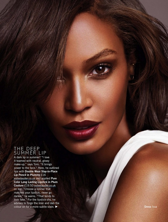 Jonas Bresnan / Joan Smalls / Glamour UK / June 2013