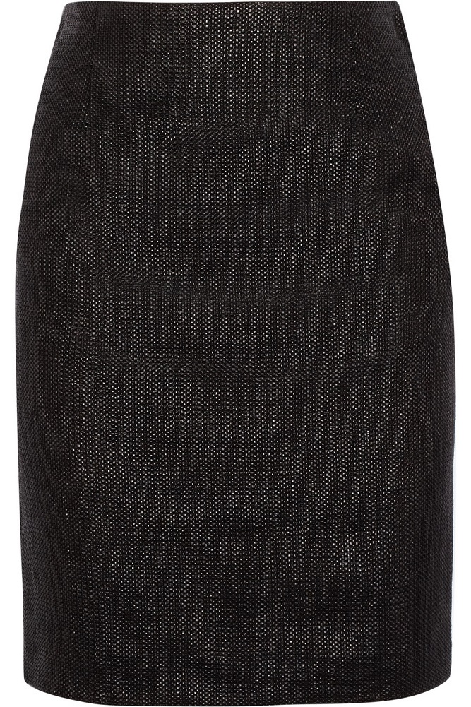 MOSCHINO CHEAP AND CHIC cotton blend   pencil skirt   currently 70% off