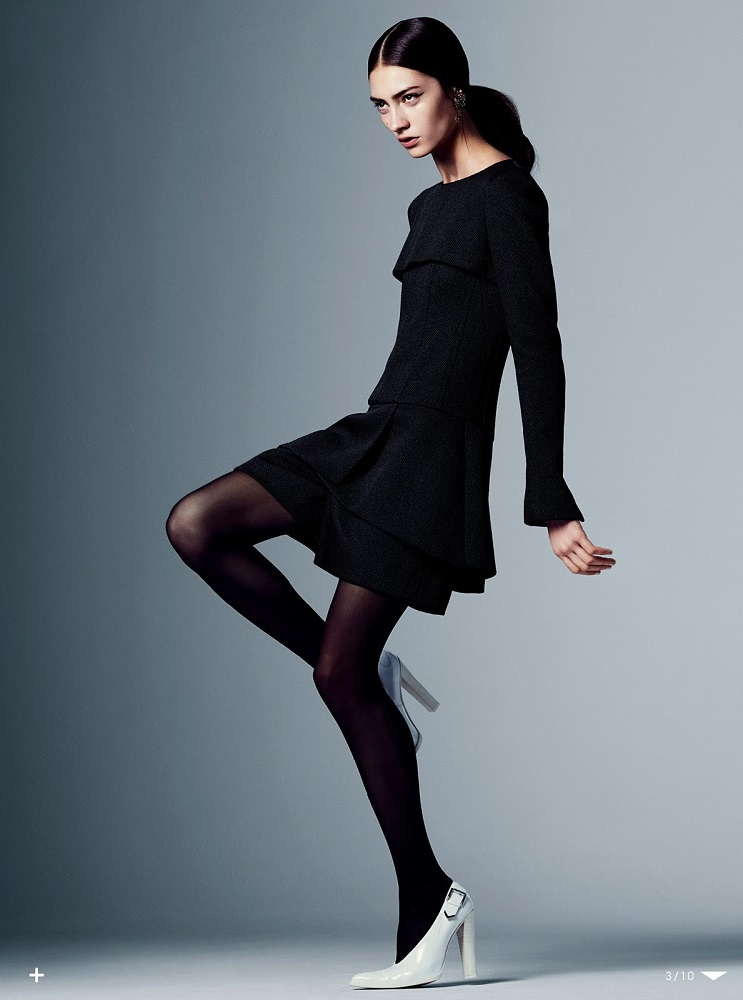 Steven Pan / Marine Deleeuw / Vogue Japan / August 2013