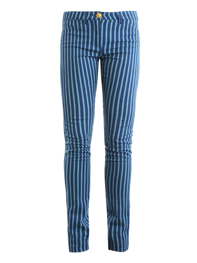 VERSACE mid rise   straight leg jeans   currently 70% off