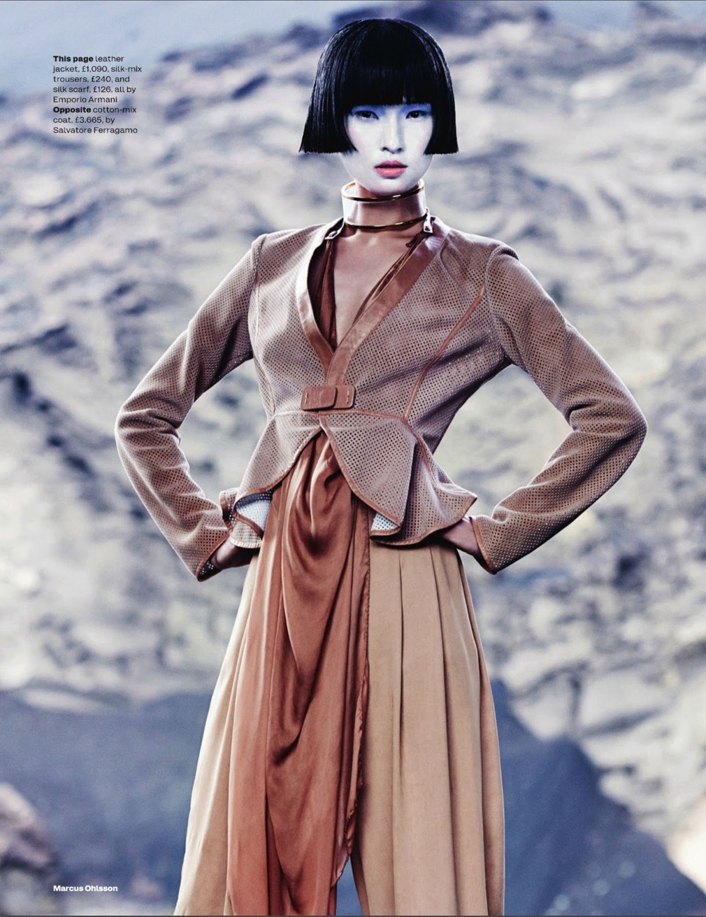 Marcus Ohlsson / Wang Xiao / Anne-Marie Curtis / Elle UK / March 2013
