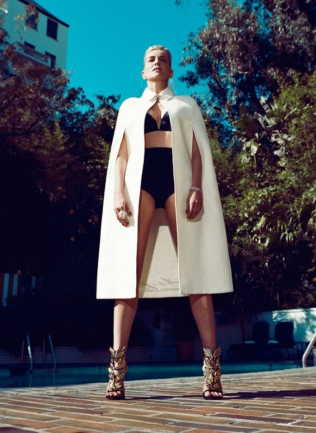 Norman Jean Roy / Sharon Stone / Vanity Fair España / June 2013