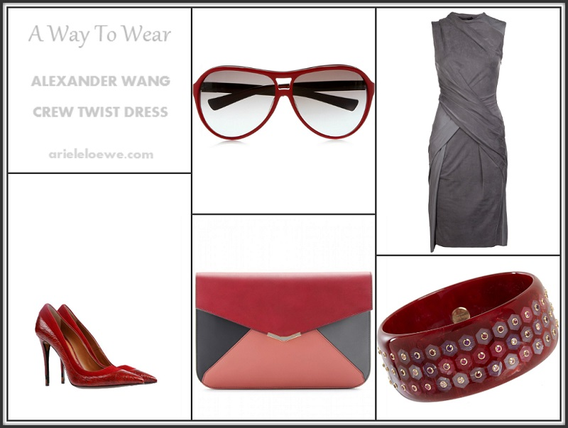 A Way To Wear Alexander Wang Crew Twist Dress
