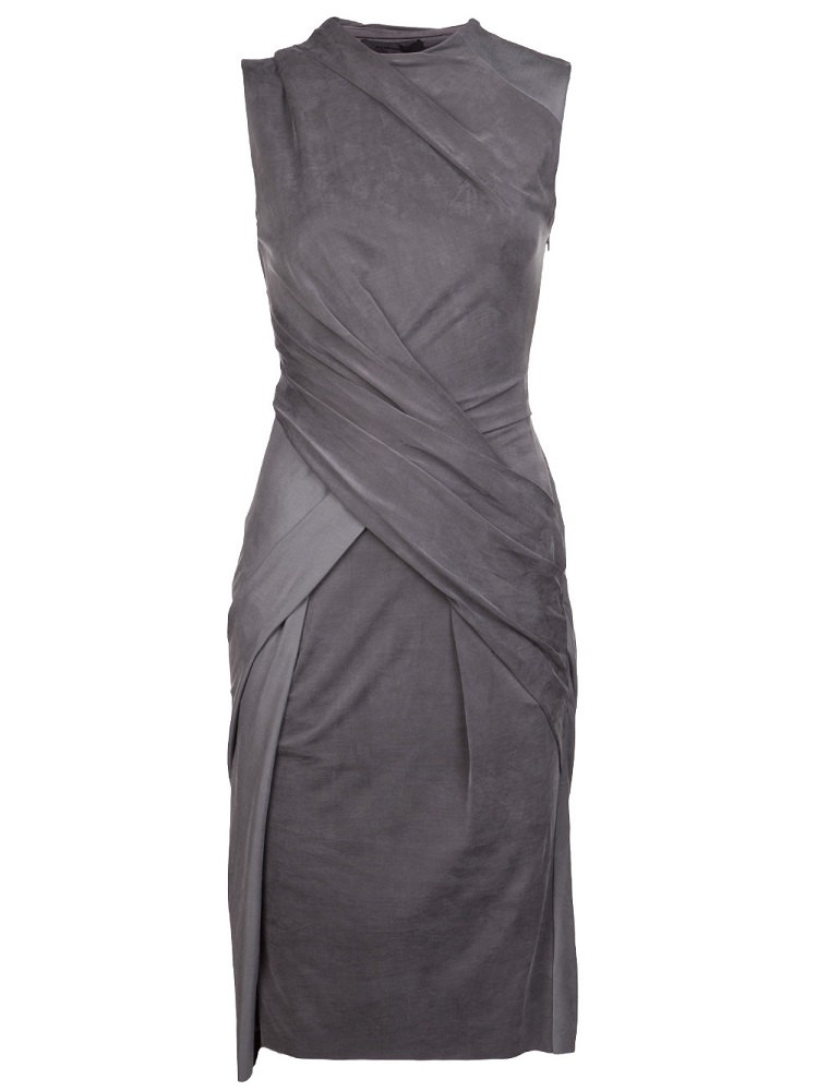 ALEXANDER WANG   crew twist dress