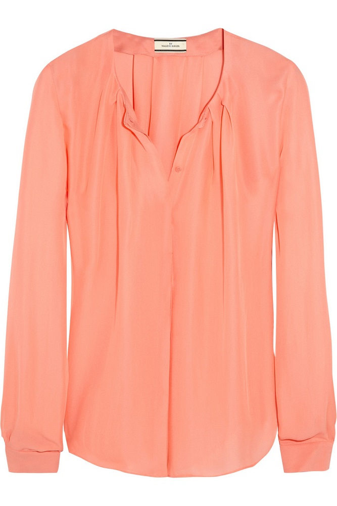 MALENE BIRGER   chiffon blouse   currently 61% off