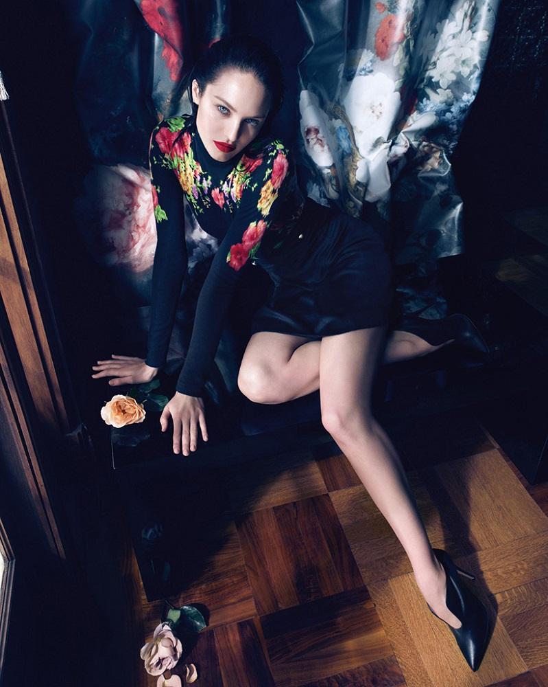 Camilla Akrans / Candice Swanepoel / Blumarine / Autumn Winter 2013
