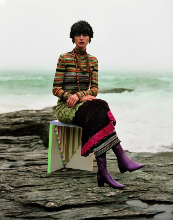 Alasdair McLellan / Stella Tennant / Missoni / Autumn Winter 2013