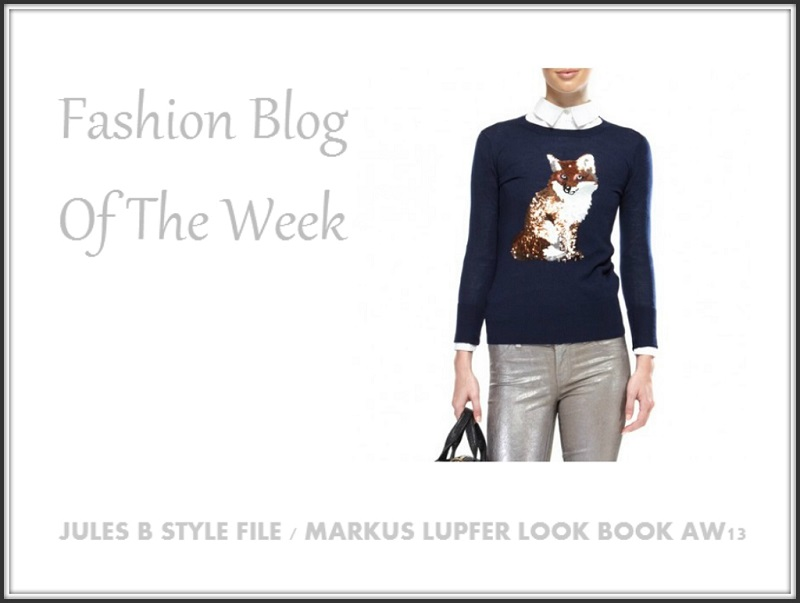 Jules B Style File Markus Lupfer Look Book AW13